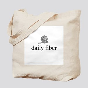 Daily Fiber - Yarn Ball Tote Bag
