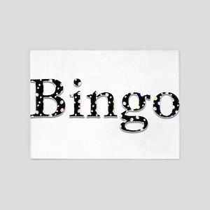 Bingo Balls 5'x7'Area Rug