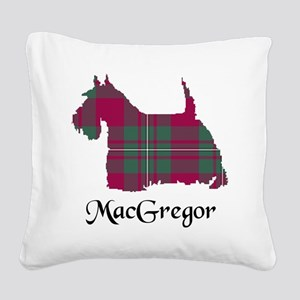 Terrier - MacGregor Square Canvas Pillow