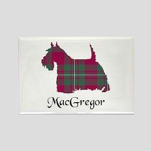 Terrier - MacGregor Rectangle Magnet