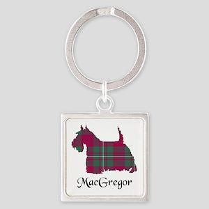 Terrier - MacGregor Square Keychain