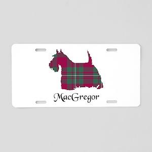 Terrier - MacGregor Aluminum License Plate