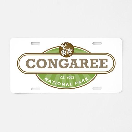 Congaree National Park Aluminum License Plate