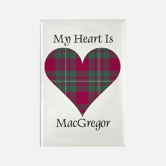 Heart - MacGregor Rectangle Magnet