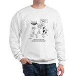 Bee Reads Expiration Date on Flowers Sweatshirt