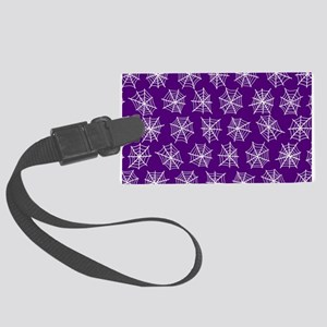'Spider Webs' Large Luggage Tag