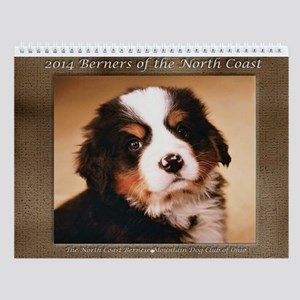 2014 North Coast Bernese Mountain Dog Calendar