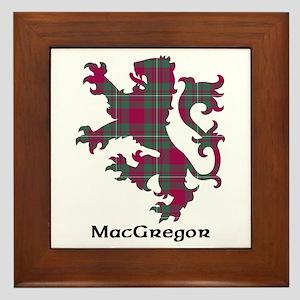Lion - MacGregor Framed Tile
