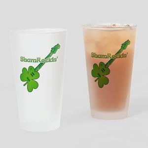 Shamrockin Drinking Glass