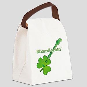 Shamrockin Canvas Lunch Bag
