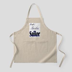 sleep with a sailor BBQ Apron