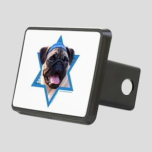 Hanukkah Star of David - Pug Rectangular Hitch Cov