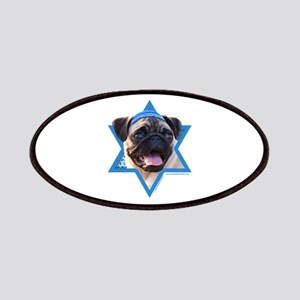 Hanukkah Star of David - Pug Patches