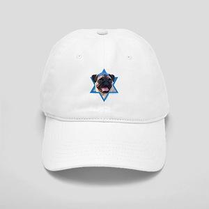 Hanukkah Star of David - Pug Cap