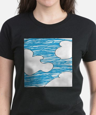 Scribble Clouds T-Shirt
