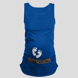 Happy Halloween Maternity Tank Top
