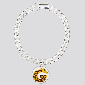 G is for Giraffe Charm Bracelet, One Charm