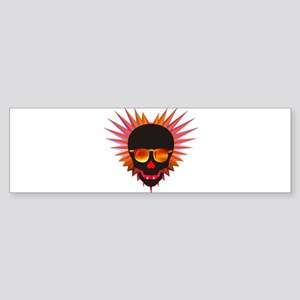 Spiky Psyche Bumper Sticker