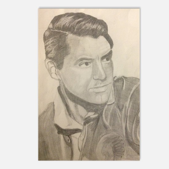 Cary Grant portrait Postcards (Package of 8)