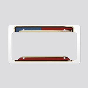 DrumsticksVintage License Plate Holder