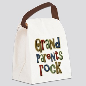 GrandParentsRock Canvas Lunch Bag