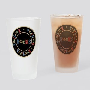 YearbookRocks Drinking Glass