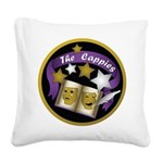 Cappies-ColorLogo.png Square Canvas Pillow