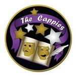 Cappies-ColorLogo.png Round Car Magnet