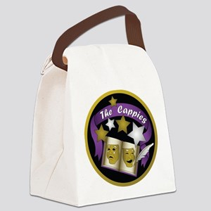 Cappies-ColorLogo Canvas Lunch Bag