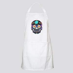 Dark Sugar Skull Apron