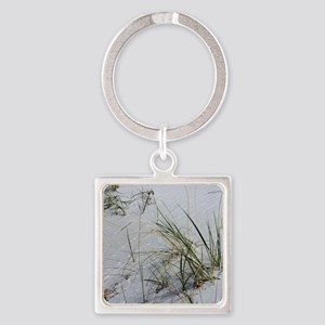 Beach001 Square Keychain
