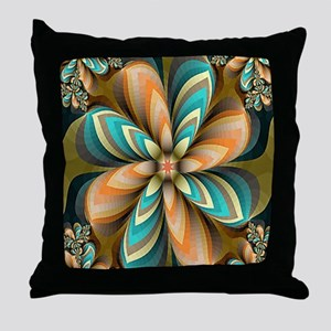 Flowers Please Throw Pillow