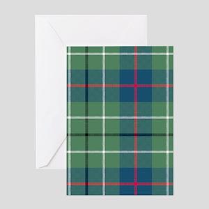 Tartan - Duncan Greeting Card