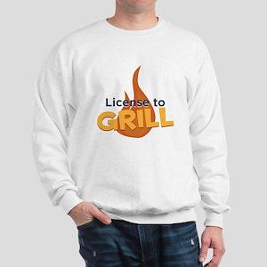 License to Grill Sweatshirt