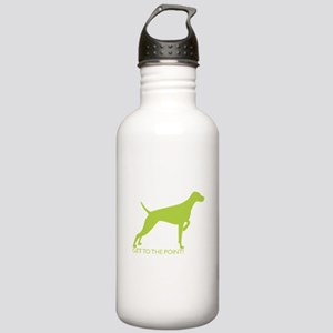 Stainless Water Bottle 1.0L - The Point Lime