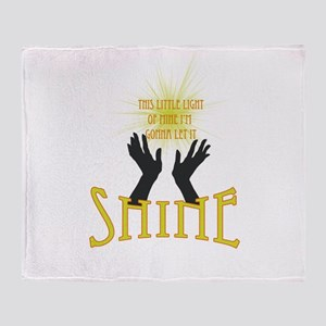 Shine Throw Blanket