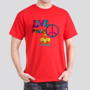 Love Peace Ducks Dark T-Shirt