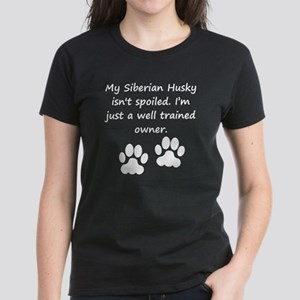 Well Trained Siberian Husky Owner T-Shirt