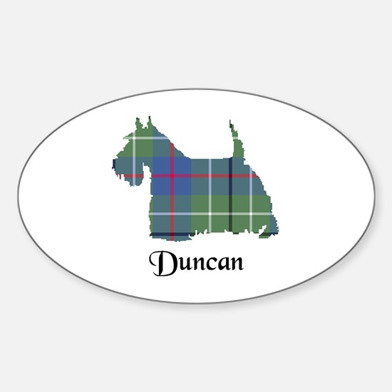 Terrier - Duncan Sticker (Oval)