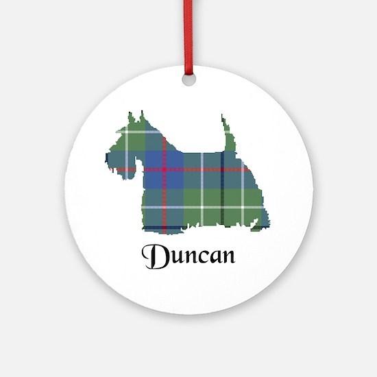 Terrier - Duncan Ornament (Round)