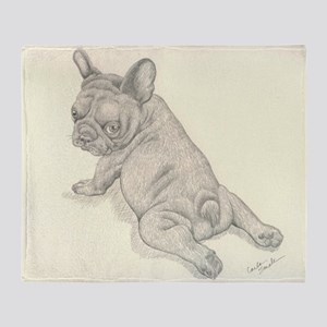 French Bulldog Baby Throw Blanket