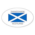 Tannochside Scotland Sticker (Oval 10 pk)