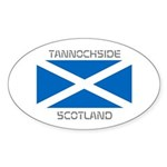 Tannochside Scotland Sticker (Oval 50 pk)