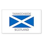 Tannochside Scotland Sticker (Rectangle 50 pk)
