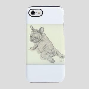 French Bulldog Baby iPhone 7 Tough Case