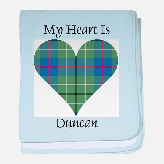 Heart - Duncan baby blanket