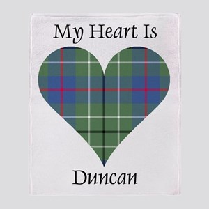 Heart - Duncan Throw Blanket