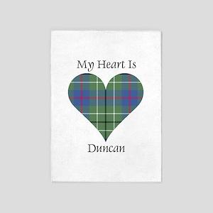 Heart - Duncan 5'x7'Area Rug