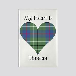 Heart - Duncan Rectangle Magnet