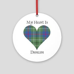 Heart - Duncan Ornament (Round)